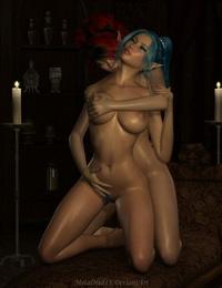 metalhed13 3DCG-Goddess Rina - part 4