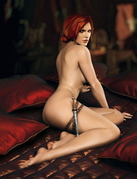 Triss Merigold Playboy session The Witcher 2