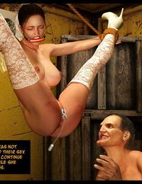 3d Bondage & Discipline dungeon space A Hoe Scene 1 - The Lonely Bride - part 2