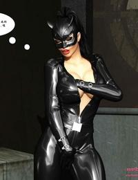 MrBunnyArt Batgirl vs Cain BatmanChinese - part 3