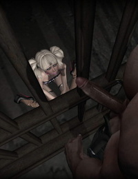 2nd Life Femboy Trissy - Various interracial and solo pics
