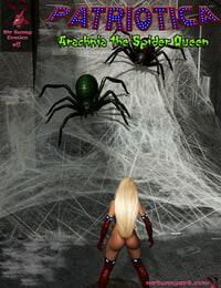MrBunnyArt Halloween 2017 Patriotica vs Arachnia English