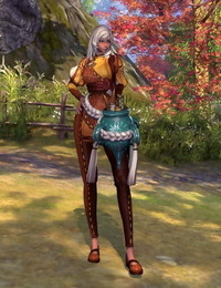 Blade and Soul Damsel Gon Clothes - part 2