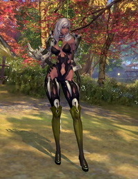 Blade and Soul Nymph Gon Clothes