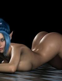 3D Hentai vags - part 2
