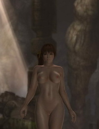 Struggle nude Kasumi VS Ayane DOA - part 3