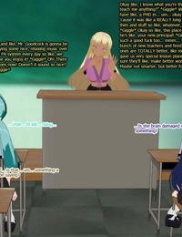 3DCG Classroom Bimbofication