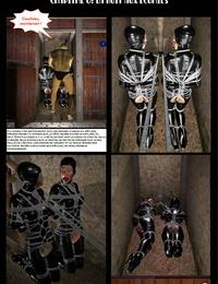 Female Restrain bondage Investigation Part 1 - part 3