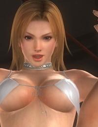 Struggle naked Kasumi - Ayane vs Tina - Mila DOA - part 3