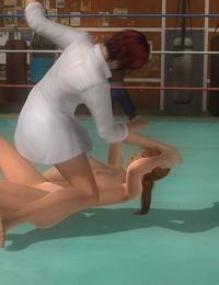 Struggle naked Kasumi - Ayane vs Tina - Mila DOA