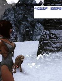 Skyrim huntress 1 上古5女猎手艾拉第一集)