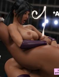 Squarepeg3D The F.U.T.A - Match 05 - Emiko vs Sexy Sky - part 4