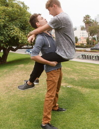 Gay lad ryan bailey and cameron parks fucks - part 166