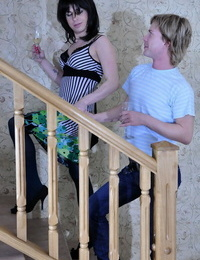 Abnormal dude gets disguised like a jaw-dropping femme aching for some back - part 77