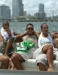 Check ou these gay lovemaking soirees on a boat nude in miami these gay studs get freak - part 1112