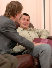 Filthy gay guy has a rock hard surprise for his pal to stuff his mo - part 175