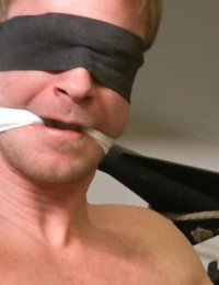 Dominic pacifico gets roped up, hung and edged. - part 1932