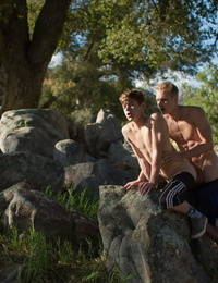Max and joey mills are nasty hikers exploring the super-naughty outdoors - part 610