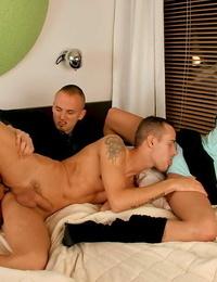 Boy-hole nailing in hardcore mmf threesome from bimaxx - part 449