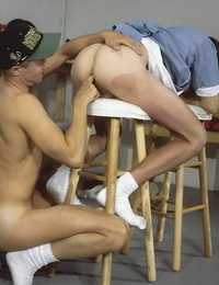 Mature and college dudes rimming and screwing one after the other - part 1821