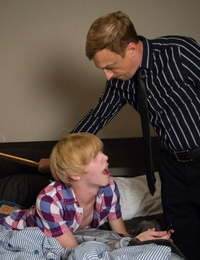 Gay youngsters getting smacked - part 81
