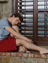 Horny 19 year old collin adams is home alone - part 58