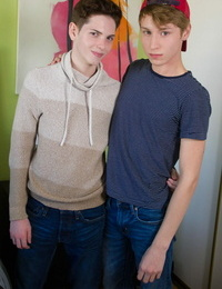 Gay twink riley finch and pursue williams set classmate dick - part 454