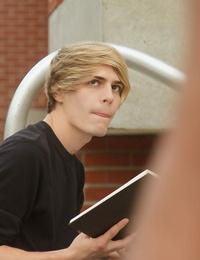 Beautiful blond boy kyle ross has been crushing hard - part 142