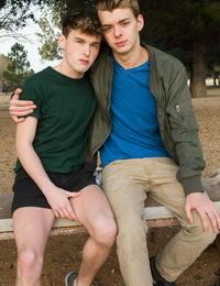 Gay lad ethan helms and hunter graham set mating season - part 843