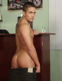 Martin naked on the bar - part 856