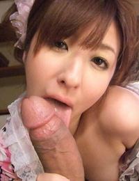 Slurps Japanese chicks getting their vaginas fucked firm in mega-slut positions