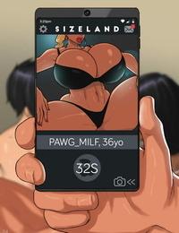 SizeLand 2 - Pawg Mummy - part 2