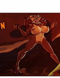 Juicy Big-boobed Penny - Halloween