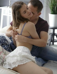 Sweet skinny teen embraces her stud with some sweet shaft buxom - part 2909